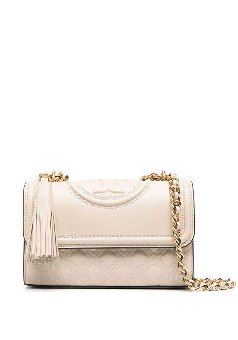 New Cream Fleming Convertible Shoulder Bag TORY BURCH   Bags   75576122