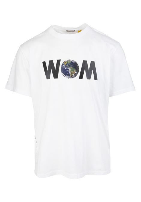 Man White World of Moncler T-Shirt MONCLER HIROSHI FUJIWARA | t-shirts | 8C000-08 8392B001