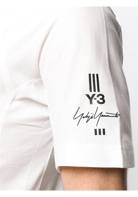 26cccd49f WHITE Y-3 NEW CLASSIC POLO SHIRT