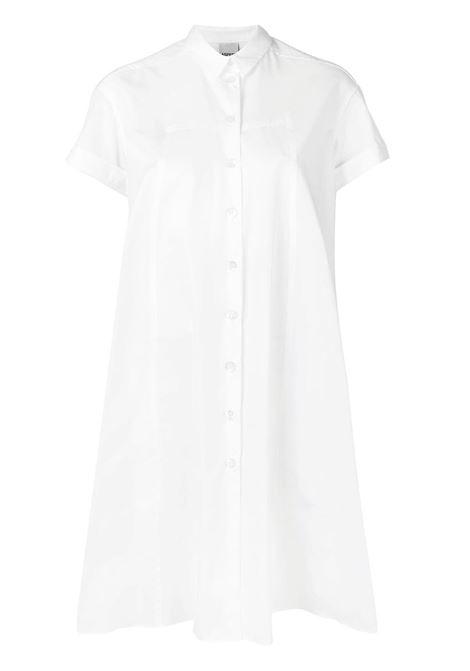 19f27b31f904ab ASPESI. € 590.00 · WHITE SHIRT DRESS WITH SHORT SLEEVED