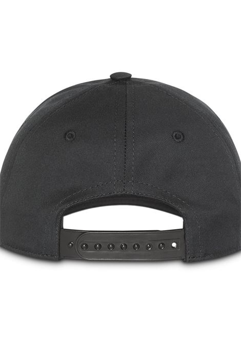 ff1070a045f48 Black Baseball Cap With White Logo - BURBERRY - Russocapri