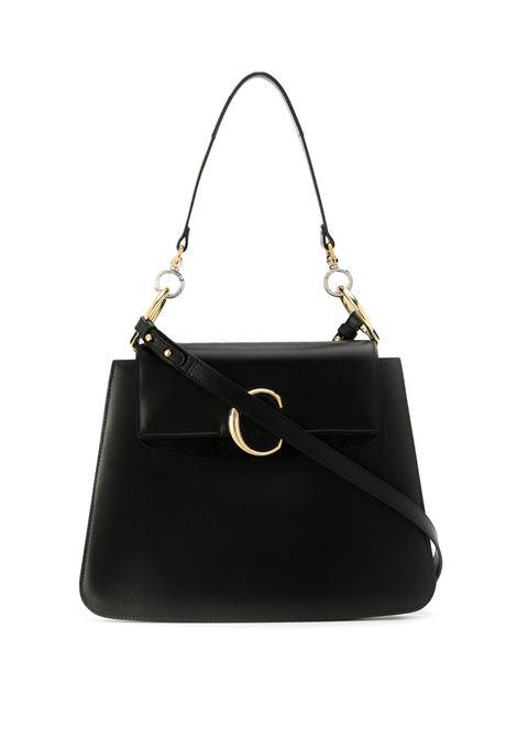 9e957a568516a BLACK CHLOE' C MEDIUM SHOULDER BAG