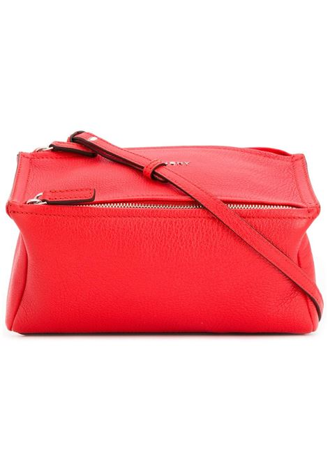 Pandora Mini Bag In Pop Red Leather GIVENCHY | Bags | BB05253013629