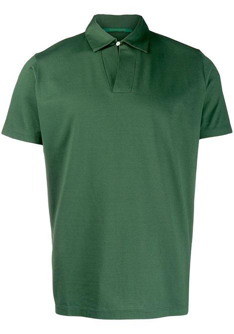 9c50d68d1 BOTTLE GREEN COTTON POLO SHIRT