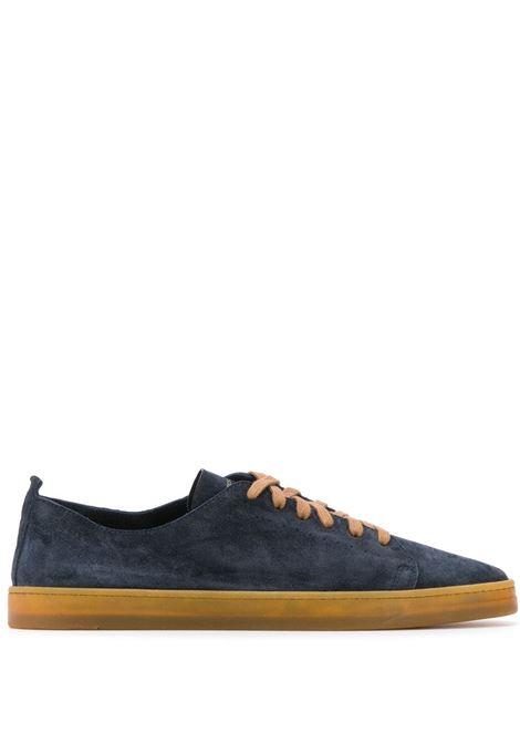 Golia Sneakers in Dark Blue Suede HENDERSON | Sneakers | GOLIA3