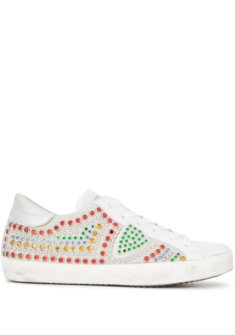 Sneaker Paris - Carioca Jules Blanc/Mix PHILIPPE MODEL   Sneakers   CLLDDC01