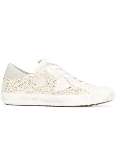 Sneaker Paris - Romantique Blanc PHILIPPE MODEL   Sneakers   CLLDRP03