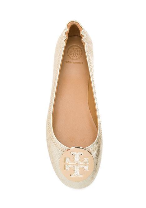 c65f2d5c6b02a Golden Minnie Travel Ballerinas - TORY BURCH - Russocapri