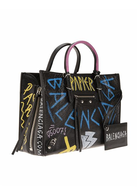 fedb445d8be54c ... Bags | Graffiti Papier A6 Zip Around. 370926-0RF0N1060. 370926-0RF0N1060