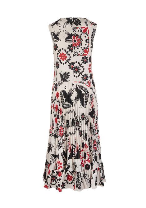 536a821db39 Dress In Decorated Terrace Print - RED VALENTINO - Russocapri