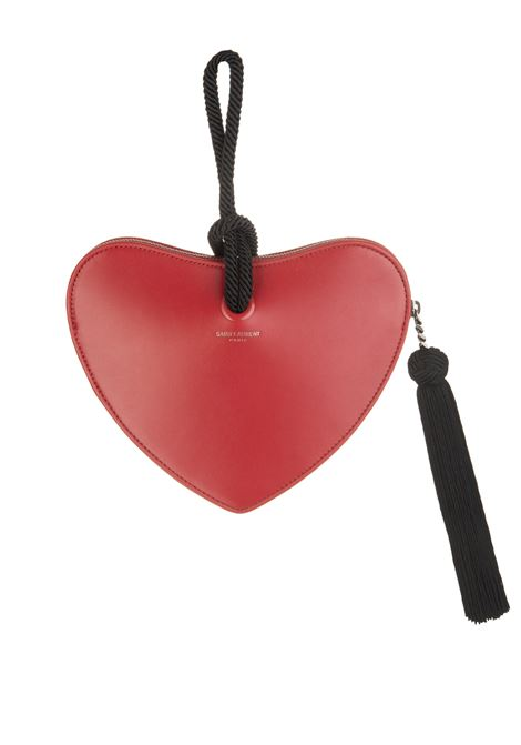 9a45d05e5 Red Monogram Heart Minibag - SAINT LAURENT - Russocapri