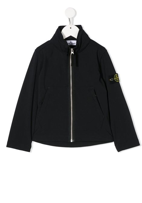 Bomber con zip STONE ISLAND JUNIOR | Giacche sportive e  giacche a vento | 721640834V0020