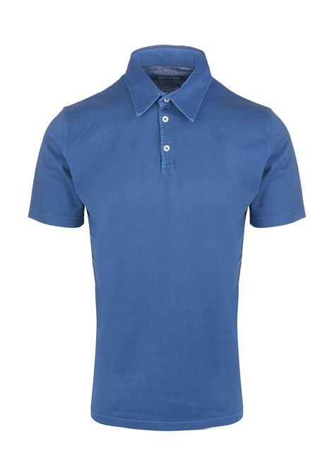 Polo Uomo In Jersey Azzurro FEDELI | Polo | 2UEF0137R525
