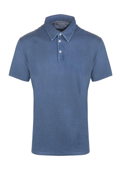 Polo Uomo In Jersey Blu Avio FEDELI | Polo | 2UEF0137R880