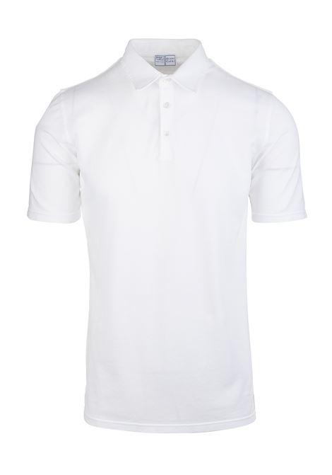 White Piquet Man Polo Shirt FEDELI | Polo shirts | DCLPF241