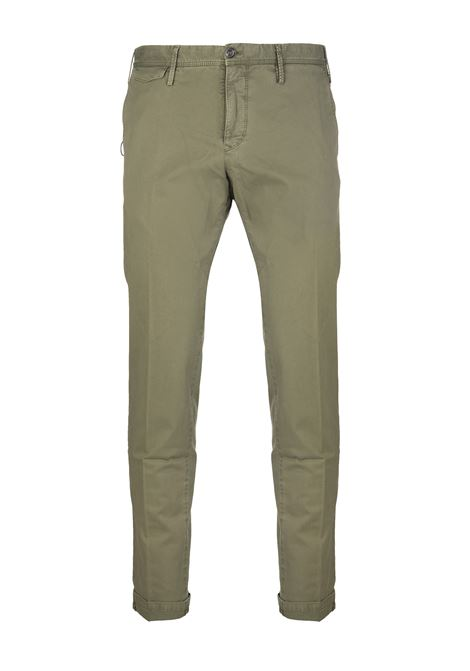 Pantalone Slim Uomo PT01 Verde Oliva PT01 | Pantaloni | TTSA-NU010449