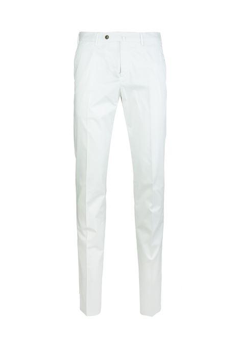 Man White Chino Slim Pants PT01 | trousers | VT01-RO050010