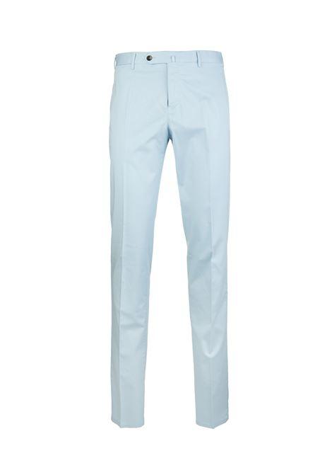 Pantalone Uomo Chino Slim Celeste Pastello PT01 | Pantaloni | VT01-RO050300