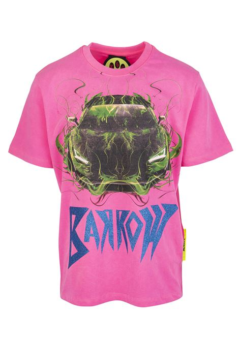 Graphic-print T-shirt BARROW | t-shirts | 028392045