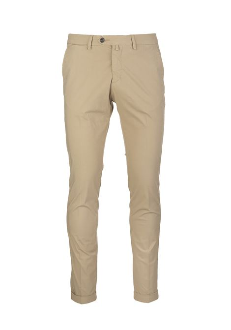Beige Man Chino Pant BSETTECENTO | trousers | MH700-903233