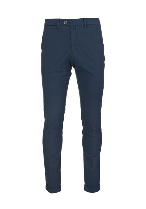 Navy Blue Man Chino Pant BSETTECENTO | trousers | MH700-903251