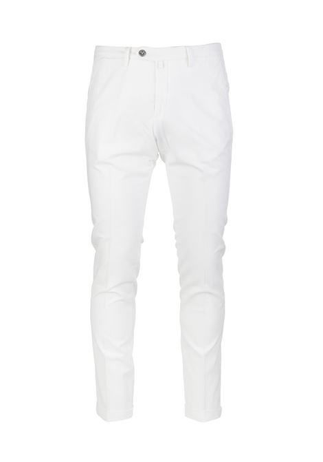 Pantalone Chino Uomo Bianco BSETTECENTO | Pantaloni | MH700-933106