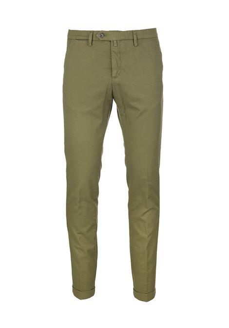 Pantalone Chino Uomo Verde Oliva BSETTECENTO | Pantaloni | MH700-933195