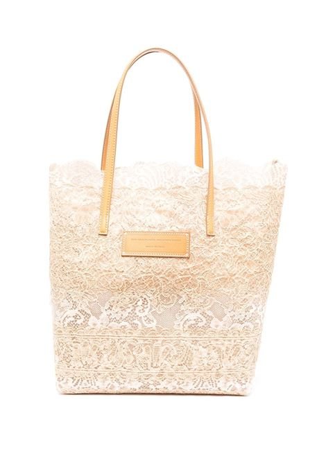 Shopper Seeds Of Love Beige e Nude ERMANNO SCERVINO | borse a spalla | D383S390QZRD3807