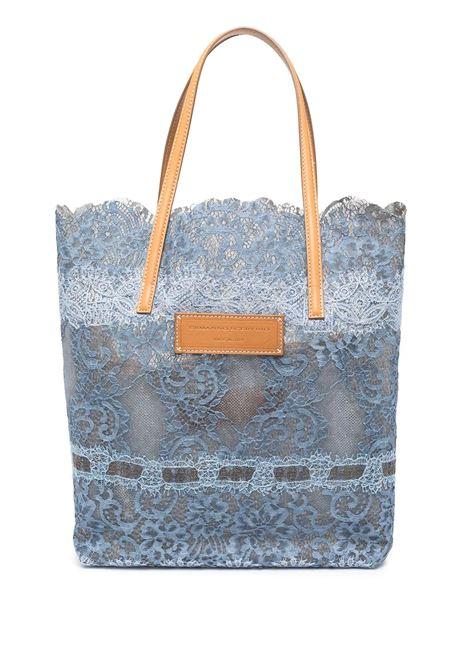 Shopper Seeds Of Love Blu e Celeste ERMANNO SCERVINO | borse a spalla | D383S390QZRD3810