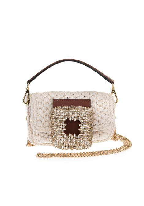 Borsa Mia Crochet Piccola Avorio Con Cristalli GEDEBE | Borse | MIA CROCHET SMALLCREAM