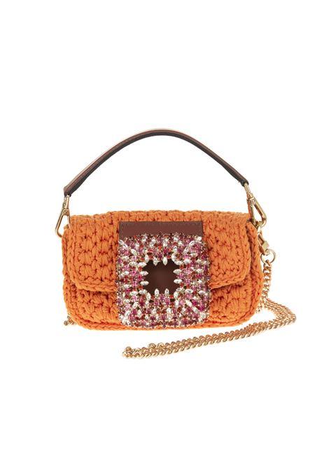 Borsa Mia Crochet Piccola Arancione Con Cristalli GEDEBE | Borse | MIA CROCHET SMALLORANGE