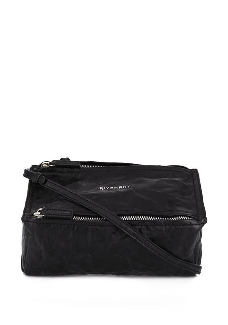 Pandora Mini Bag In Aged Black Leather GIVENCHY | hand bags | BB05253004001
