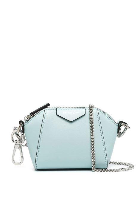 Light Blue Baby Antigona Bag With Chain GIVENCHY |  | BB60D7B0XN466