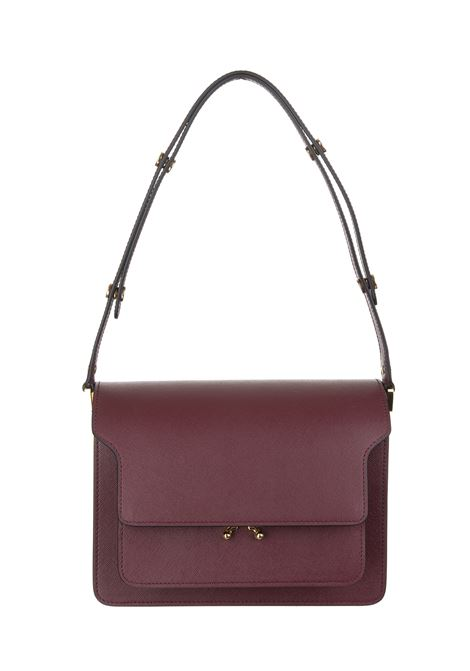 Burgundy 'Trunk shoulder bag MARNI | Bags | SBMPN09NO1-LV520ZR82N