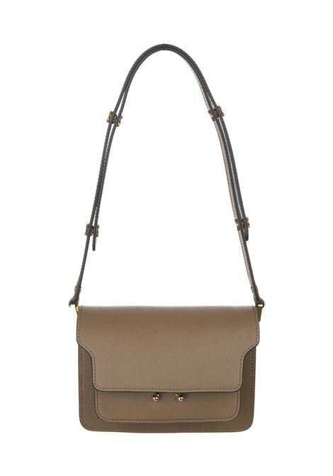 Brown Trunk leather shoulder  MARNI | Bags | SBMPS01NO1-LV520ZM28N