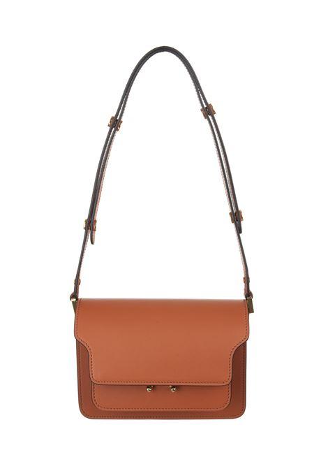 Brown mini trunk bag MARNI | shoulder bags | SBMPS01U07-LV589Z342B