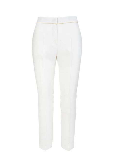 Stella Trousers In White Cady MAX MARA | trousers | 11310117600001