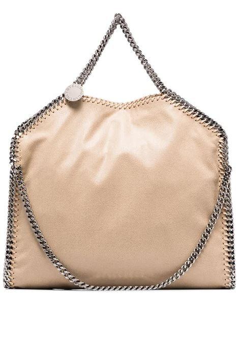 Beige Falabella Fold Over Tote Bag STELLA MC CARTNEY | hand bags | 234387-W91329300