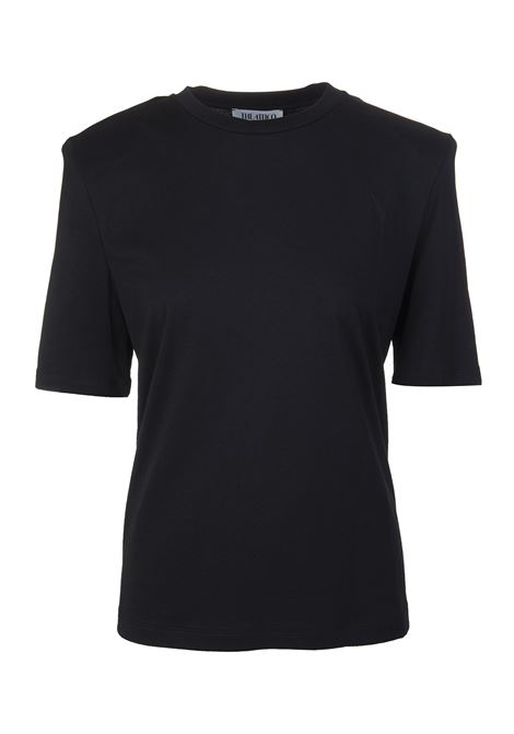 T-shirt con spalline strutturate THE ATTICO | T-Shirts | 211WCT04-C023100