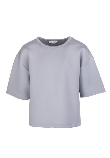 T-Shirt Oversize In Neoprene Grigia THE FUTURE | T-Shirts | TF0016GRIGIO