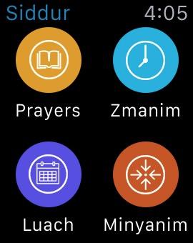 Siddur / Zmanim / Minyanim & Luach Calendar for iPhone