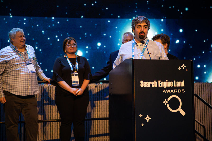 Barry Schwartz - Search Engine Land Award