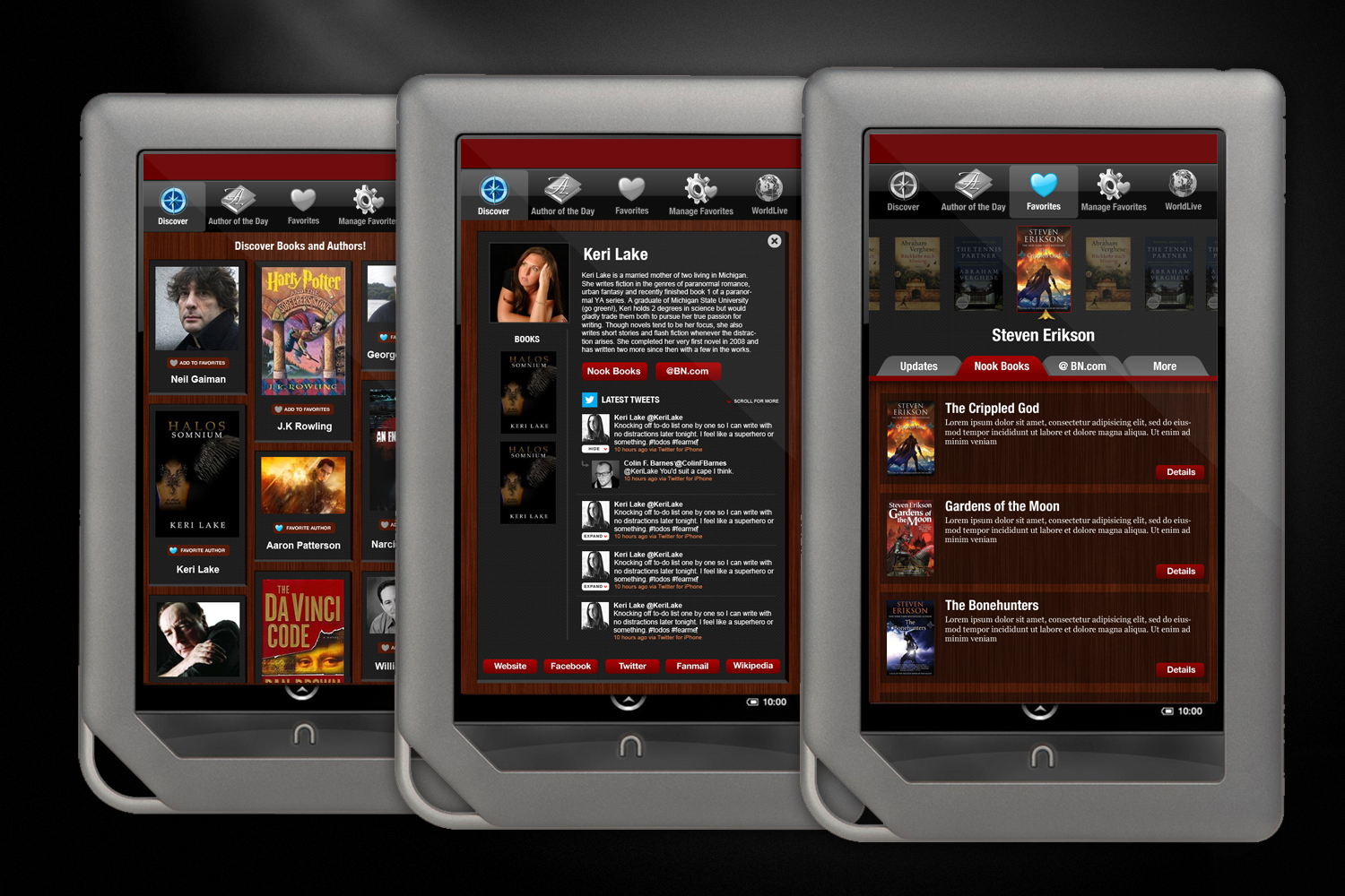 WorldLive Authors Mobile