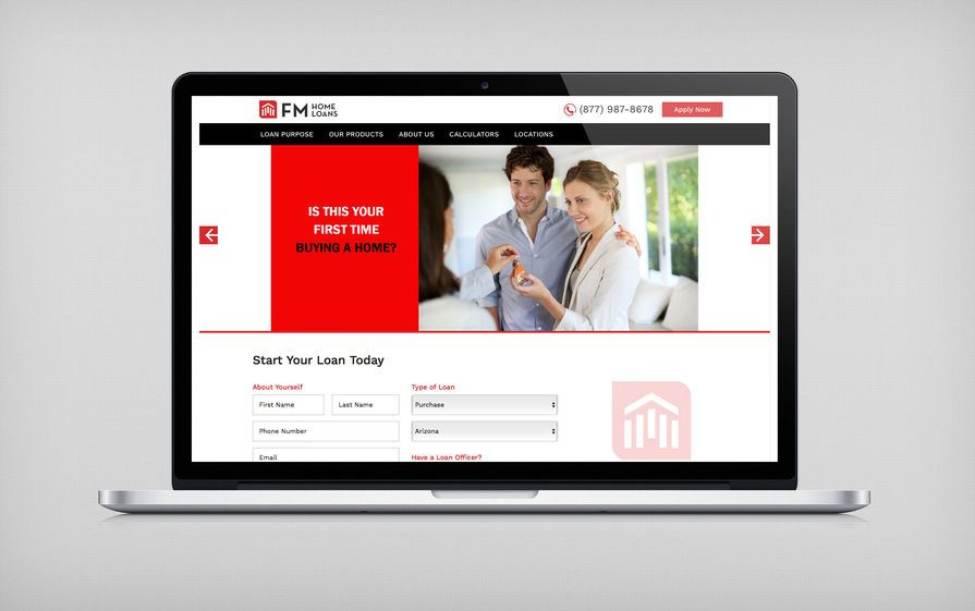 FM Home Loans Main Portfolio Image