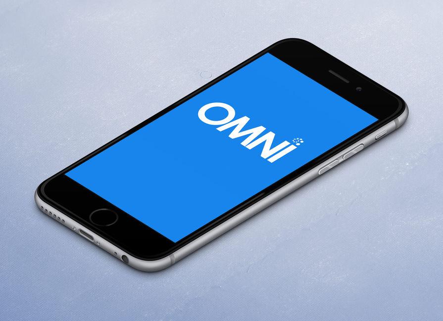 Omni Therapist App Main Portfolio Image