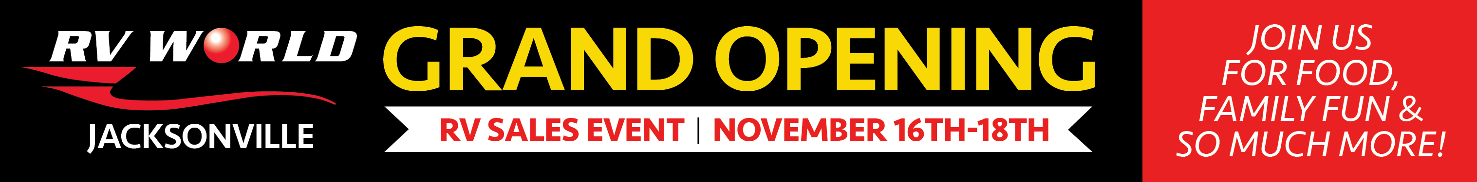 Grand Opening Sales Event