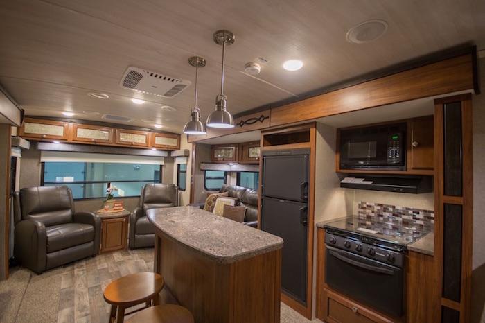 Travel Trailer Gourmet Kitchen