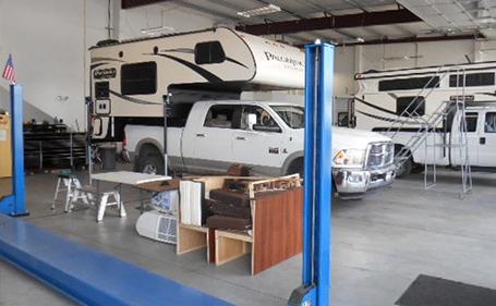 Annex Truck Shop Location