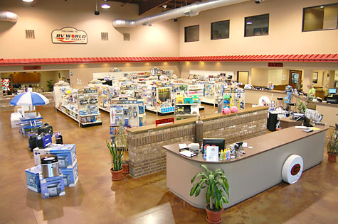 RV World store