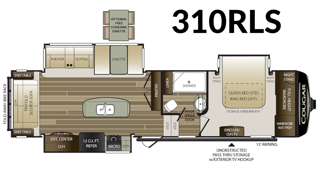 310RLS Floorplan